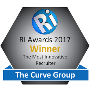 The Curve Group Win The Recruitment International Award For The 'Most Innovative Recruitment Company'