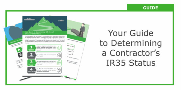 Guide To Determining A Contractor's IR35 Status